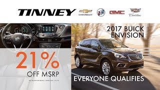 Buick Envision Rebates and Incentives for Everyone | Tinney Automotive