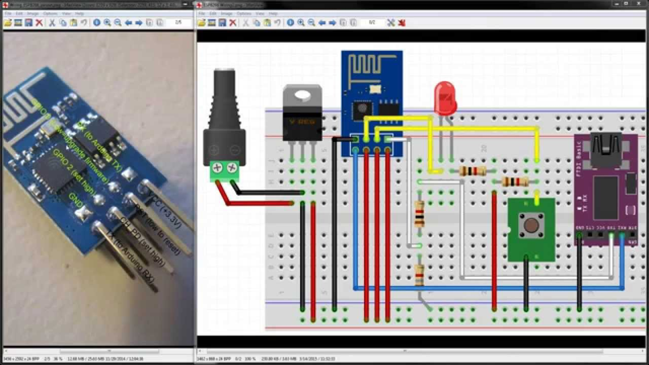 maxresdefault harifun 104 raspberry pi esp8266 part 2 wiring youtube 120V LED Wiring Diagram at edmiracle.co