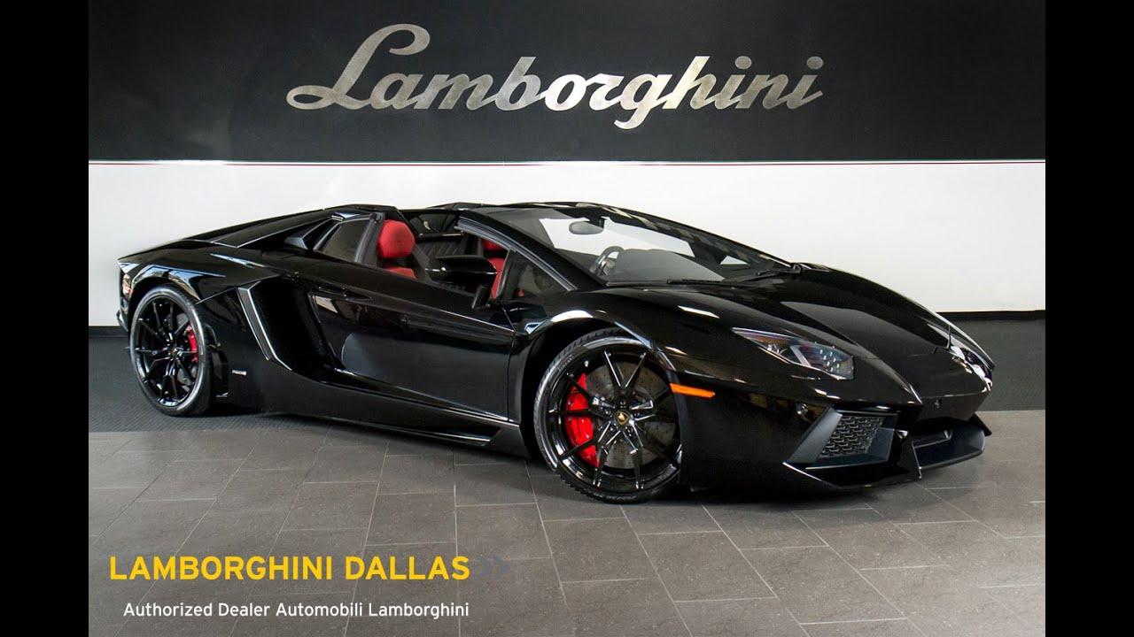 2015 Lamborghini Aventador LP 700 4 Roadster Nero Aldebaran L0735   YouTube