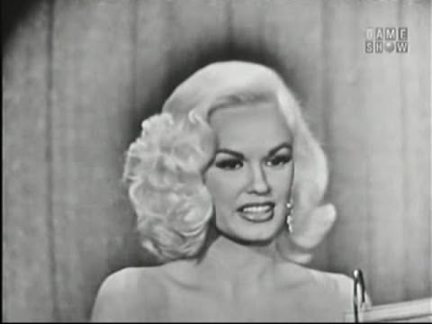 What's My Line?  Mamie Van Doren; Melvyn Douglas panel Mar 24, 1957