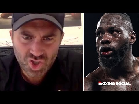 """DISASTER! WILDER'S CREDIBILITY WILL NEVER BE THE SAME!"" EDDIE HEARN ON JOSHUA, WILDER, FURY & MORE"