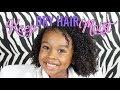 Keep DRY Hair MOISTURIZED