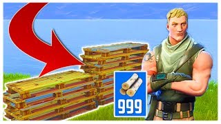 BEST OBJECTS TO HARVEST IN FORTNITE BATTLE ROYALE! GET 999+ RESOURCES FAST AND EASY!