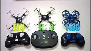 Mini drone H8 vs H48 vs H36 🛸