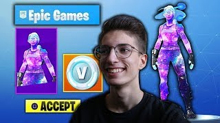 HOW TO GET * FEMALE GALAXY * SKIN U FORTNITE!?