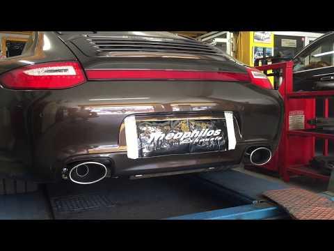 Theophilos Exhausts Porsche 911 Carrera 4S 997 Series