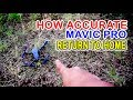DJI MAVIC PRO RETURN TO HOME ACCURACY TEST RTH mp3