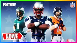 * NEW * NFL SKINS! WHEN WILL THEY BE IN THE GAME?! INFORMATION FORTNITE