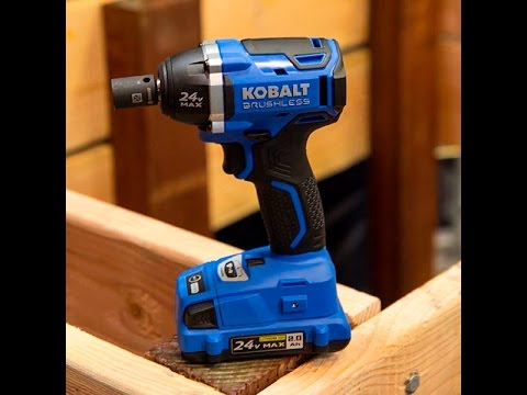 Kobalt 24 Volt Tool Line: Tools On Tap Episode #20