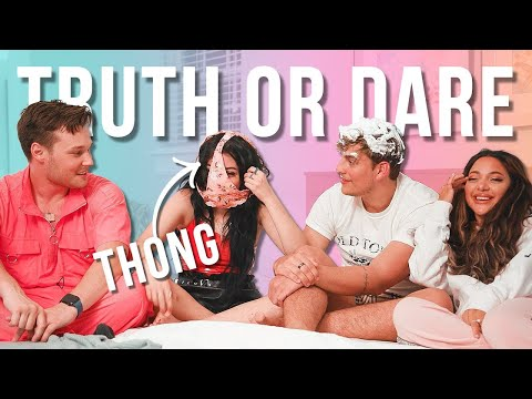 Ultimate Truth Or Dare With Our Boyfriends *twin Edition W/ Niki & Gabi