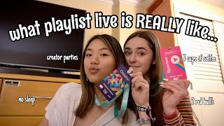 what PLAYLIST LIVE is like as a creator