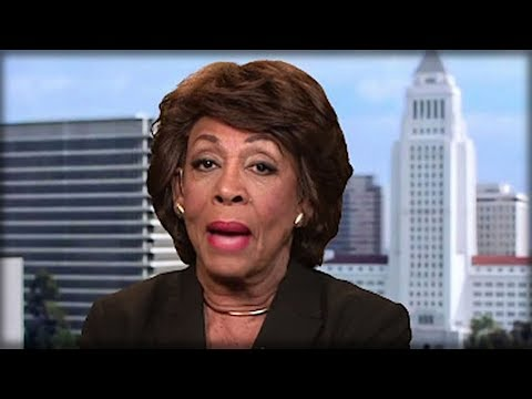 Thumbnail: THE MINUTE MAXINE WATERS ATTACKED TRUMP TODAY, EVERYONE NOTICED THE ONE THING WRONG WITH HER