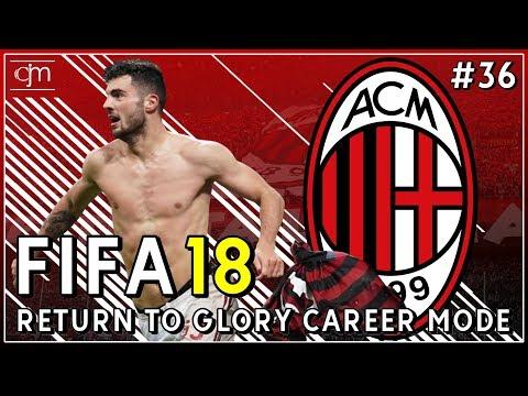 FIFA 18 AC Milan Career Mode: Berhasilkah AC Milan Menjuarai Serie A Italia?! #36