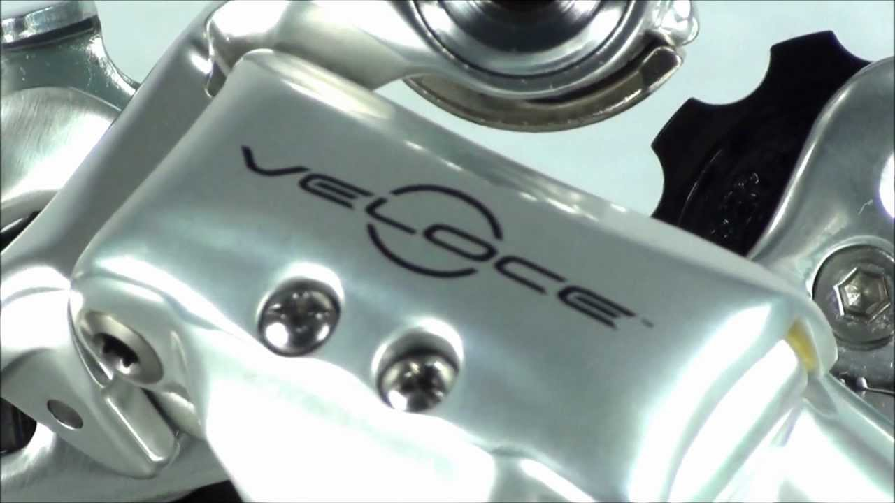 Campagnolo Veloce 10 Speed Rear Derailleur 2011 Silver