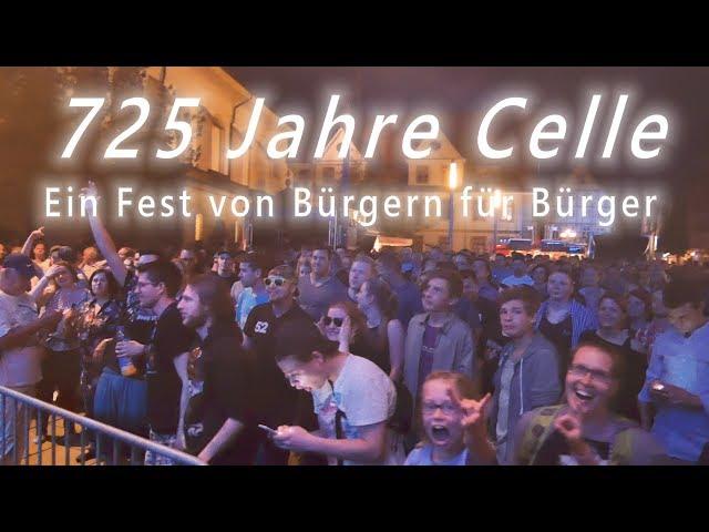 725 Jahre Celle – ein Fest von Bürgern für Bürger