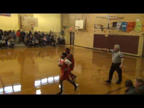 Elizabeth Middle School girls basketball vs Union Pt1
