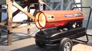 видео Тепловые пушки, тепловентиляторы