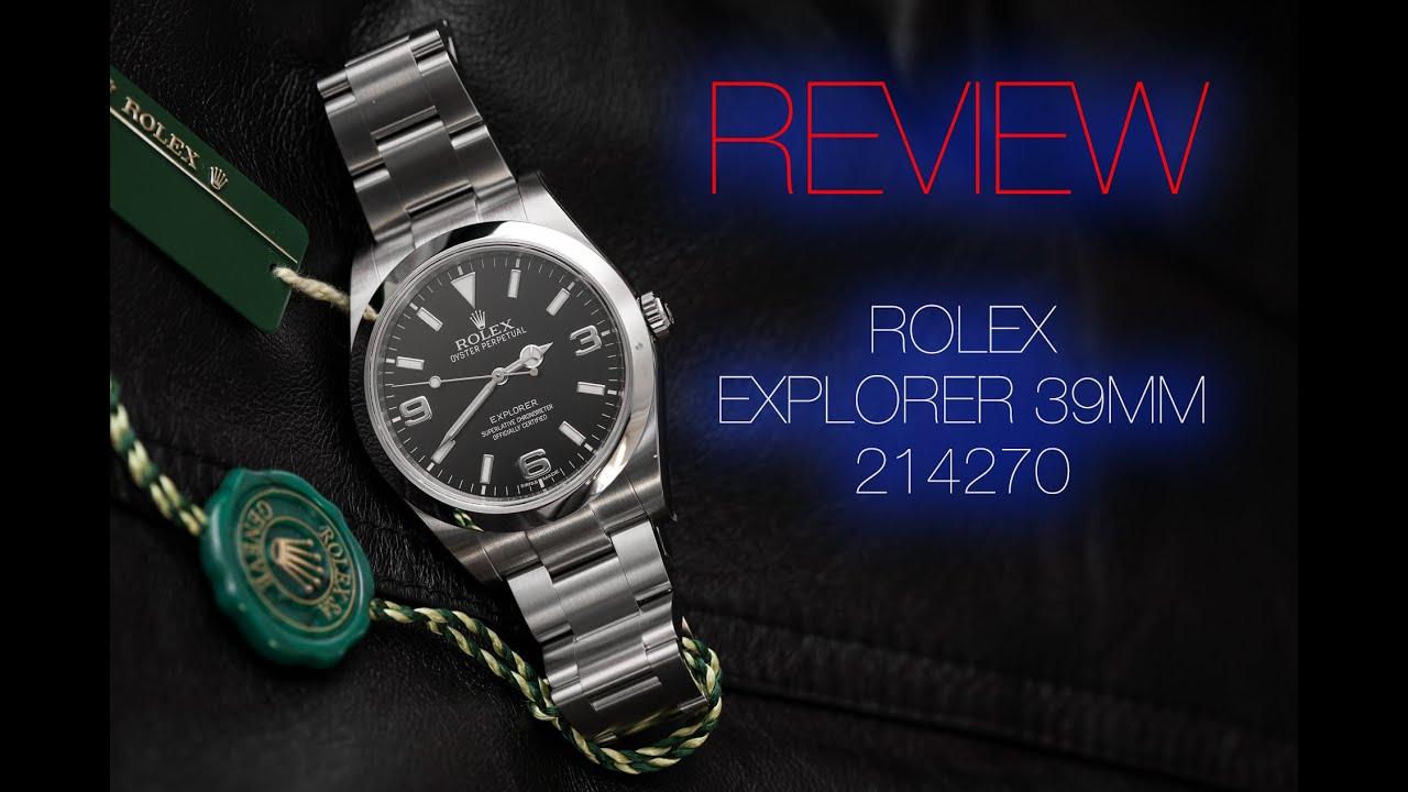 Rolex Explorer 39mm 2016