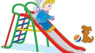 Зимние забавы детей. Составляем предложения