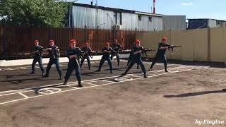 Тренировка рукопашного боя с оружием