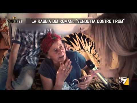 La rabbia dei romani: 'Vendetta contro i rom'