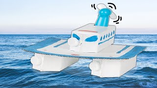 Learn How to Make an Electric Boat!🛥 | DIY for Kids on Box Yourself