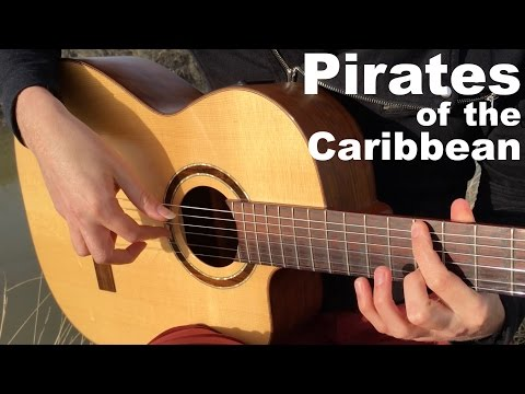 Pirates of the Caribbean [Movie Theme] - Acoustic/Classical Fingerstyle Guitar - Thomas Zwijsen