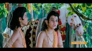 Sri Rama Rajyam Tamil Movie Scenes | Lava Kusa Caputre Aswamedha Horse | Balakrishna | Nayanthara