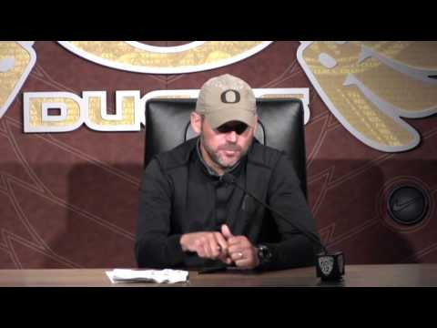 Mark Helfrich Tuesday Press Conference 9/27/16