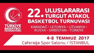 Litvanya - Rusya (Lithuania - Russia) | Turgut Atakol Turnuvası