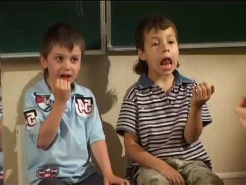 Лечение заикания у детей в речевом центре Логопед плюс (фрагмент занятия)