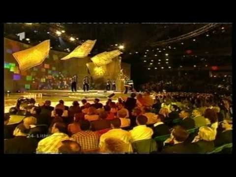 Eurovision 2002 24 Lithuania *Aivaras* *Happy You* 16:9 HQ