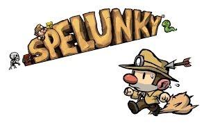 SPELUNKY - Excelente Game de Plataforma 2D Mega Difícil