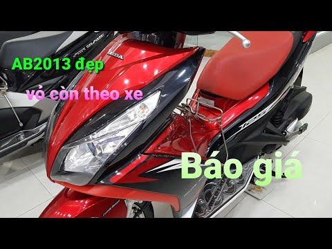 63.chi tiết và giá bán AB đỏ đen đời 2013 đẹp(vỏ theo xe) tại cửa hàng Minh Trung
