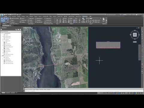 Using 3ds Max Design With Civil 3D - Part 07 - Creating A Profile