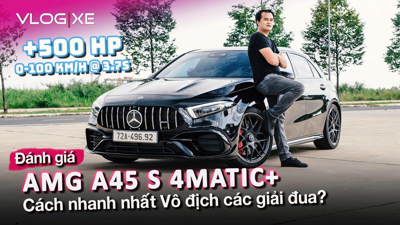 Đánh giá AMG A45 S mạnh hơn 500 hp sau khi nâng cấp tại Top Car   Vlog Xe