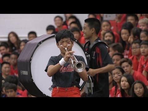 'Iolani School Celebrates Homecoming 2015