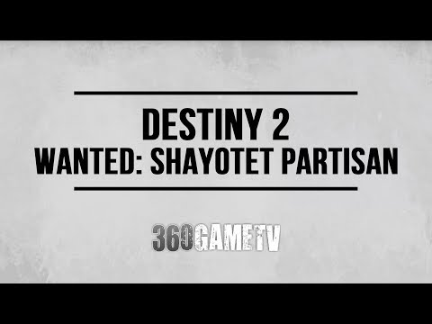 Destiny 2 Wanted: Shayotet Partisan (Lost Sector The Conflux on Nessus) - Spider Wanted Bounty