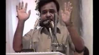 Jaffer Jalalpuri [Marhoom] Zainabiya Hall Bombay علی جعفر جلالپوری مرحوم