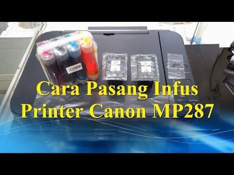 cara mengisi tinta warna printer canon IP2770 mp287 Tinta Cartridge original Canon CL 811 Colour , u.