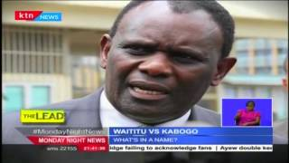 The Lead: Is Kabete MP Ferdinand Waititu using his brother's academic papers as his?