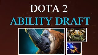 Dota 2 Ability Draft Magnus - Hit Buildings, Kill heroes + Super Mega Ultra CLEAVE