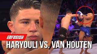 Nabil Haryouli (Morocco) vs Joey van Houten (The Netherlands) | Enfusion Kickboxing Talents