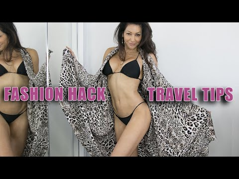 FASHION HACK – TRAVEL TIPS