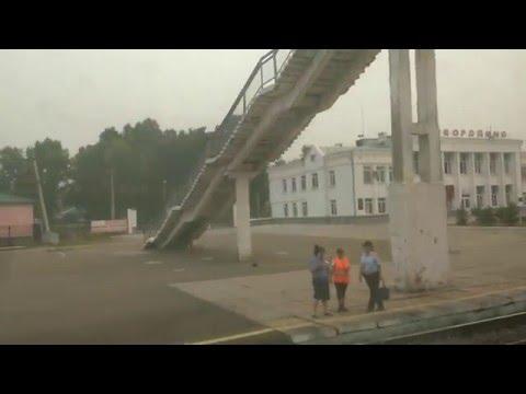 Окрестности Сковородино за окном поезда... (Заб.ж.д.)