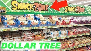 DOLLAR TREE NEW FOOD ITEMS! SNACK ZONE STORE WALK THROUGH 2018