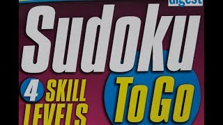 Sudoku Primer 128 - answer sheet for video 127