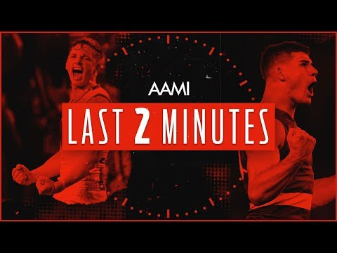 Western Bulldogs v North Melbourne | AAMI Last Two Minutes | Round 14, 2018 | AFL