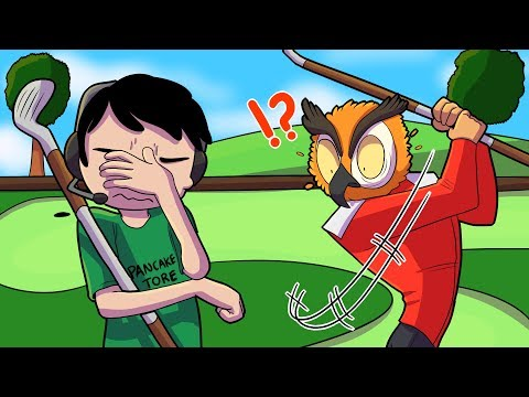 Thumbnail: VANOSS FIRST MINI GOLF GAME! - Golf It Funny Moments