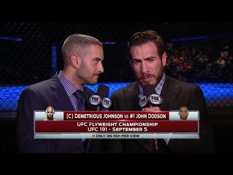 UFC 191 announced: Demetrious Johnson vs. John Dodson